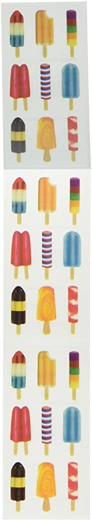 Paper House Productions ST-2179E Photo Real Stickypix Stickers, 2-Inch by 4-Inch, Popsicles (6-Pack)