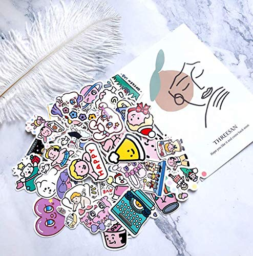 Oxygen Lab Original Hand Account Stickers, Luggage Laptop Phone Stickers, Waterproof Car Stickers 43 Sheets