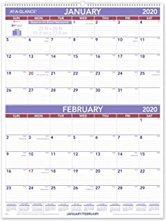 AT-A-GLANCE 2020 Wall Calendar, 22