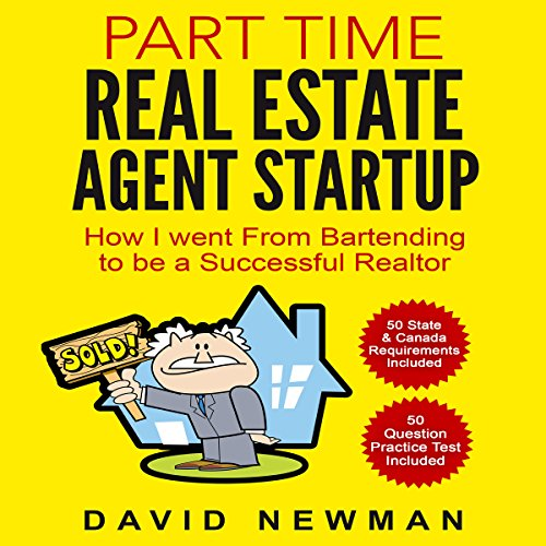 Part Time Real Estate Agent Startup audiobook cover art