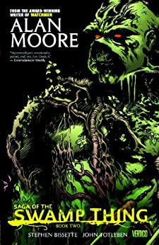 Saga of the Swamp Thing: Book Two by [Alan Moore, Stephen Bissette, John Totleben]