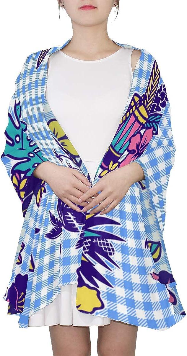 Fancy Scarfs For Women Cartoon Beautiful Instrument Ukulele Fashion Scarfs For Women Lightweight Print Scarf Women Lightweight Print Scarves Summer Scarf Women Colored Scarfs For Women
