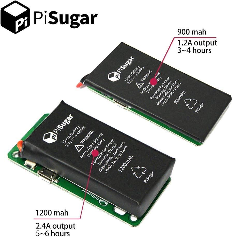 Pisugar Portable 1200 Mah Lithium Battery Power Module Für Raspberry Pi Zero Pi Zero W Wh Model Accessories Amazon De Computer Zubehör