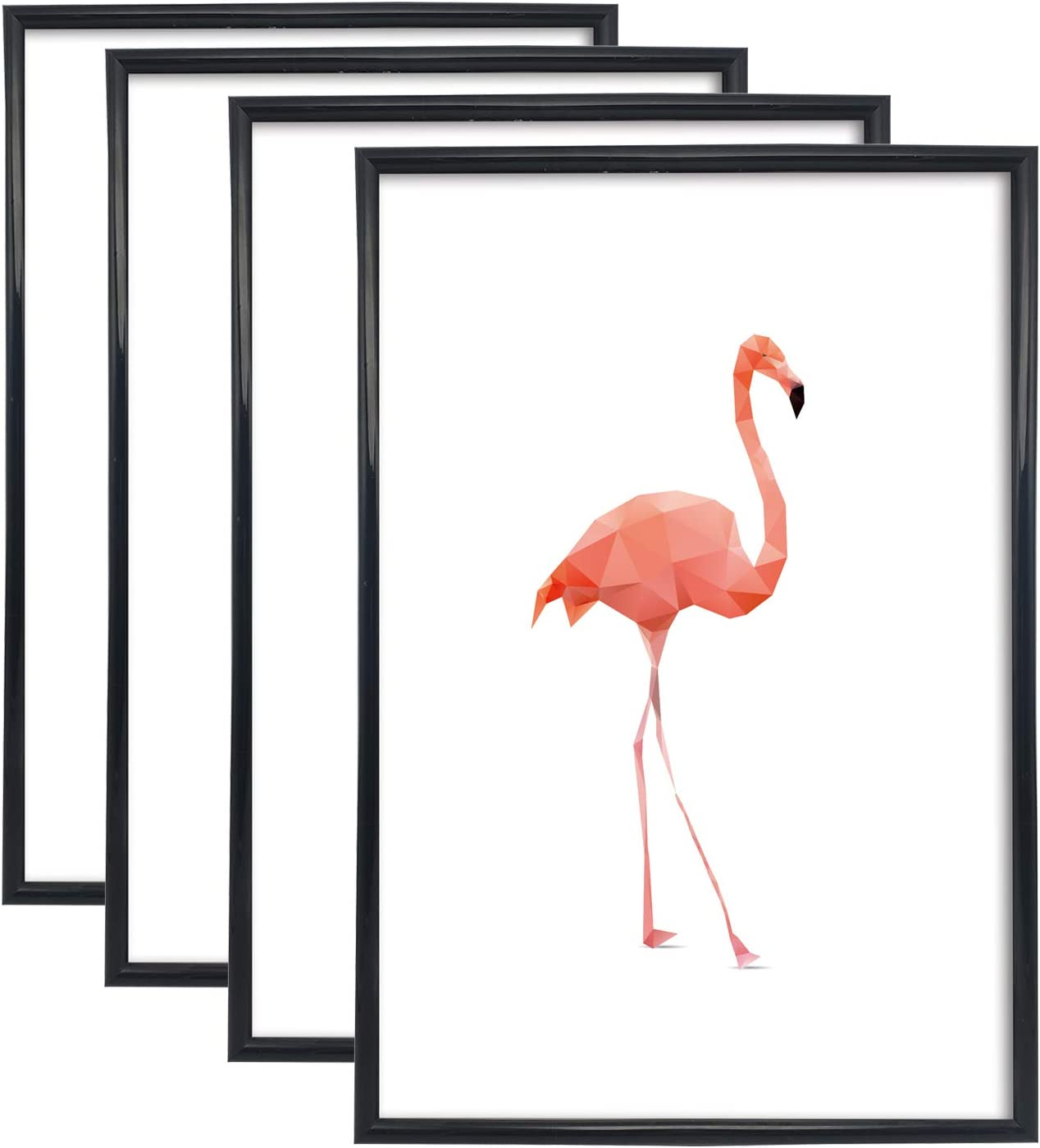 iDecorelife Frameology 4 pcs 18 x Max 50% OFF 24 Black L Excellence - inch Poster Frame