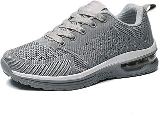 JIANKE Hommes Chaussures de Course Running Basket Mode Sport Outdoor Mesh Sneakers