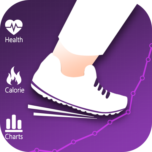 Fitness Keeper- Steps & Calorie Counter Pedometer