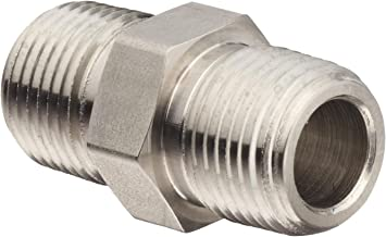 72 Units Steel Straight Adapter Brennan 1//2 in Male JIC 37/° Flare x 3//8 in Male O-Ring Boss