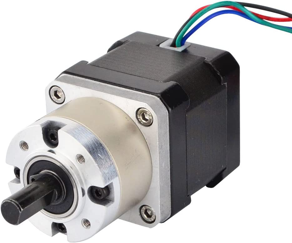 STEPPERONLINE 5:1 Limited Special Price At the price of surprise Planetary Gearbox Nema 17 1.68A Motor Stepper