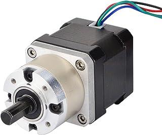 STEPPERONLINE 5:1 Planetary Gearbox Nema 17 Stepper Motor 1.68A for DIY CNC Robot 3D Printer
