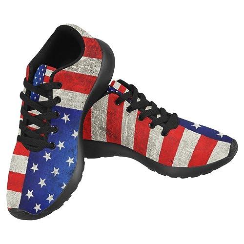 InterestPrint Women s Jogging Running Sneaker Lightweight Go Easy Walking  Casual Comfort Running Shoes ef663dabd4e