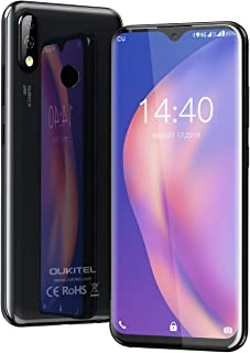 Moviles Libres, OUKITEL Y4800 Smartphone Libre, 6.3'' FHD+ Pantalla, Helio P70 Octa-Core 6GB + 128GB Teléfono Moviles Libr...