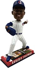 Forever Collectibles Aroldis Chapman Chicago Cubs 2016 World Series Special Edition Ticket Base Bobblehead
