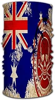 Sport Scarf Headbands Balaclava Mask Neck Gaiter Australia Flag With Some Soft H