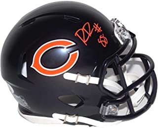 Authentic Riley Ridley Autographed Signed Chicago Bears Speed Mini Helmet (JSA COA)