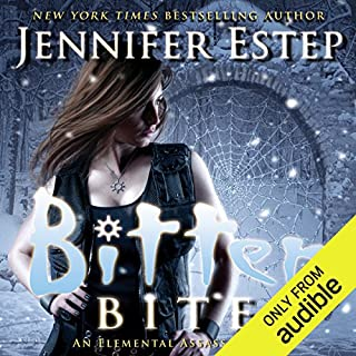 Bitter Bite     Elemental Assassin, Book 14              Written by:                                                                                                                                 Jennifer Estep                               Narrated by:                                                                                                                                 Lauren Fortgang                      Length: 10 hrs and 16 mins     Not rated yet     Overall 0.0