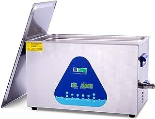 DK SONIC 加熱式デジタル超音波洗浄機 28/40 KHz - ジュエリー アクセサリー 眼鏡 ブレード 義歯 チェーン インジェクター リング ネックレス 時計 イヤリング メガネ 入れ歯 部品 レコード 燃料インジェクター 回路基板 クリーニング用の3L超音波クリーナー (22L)