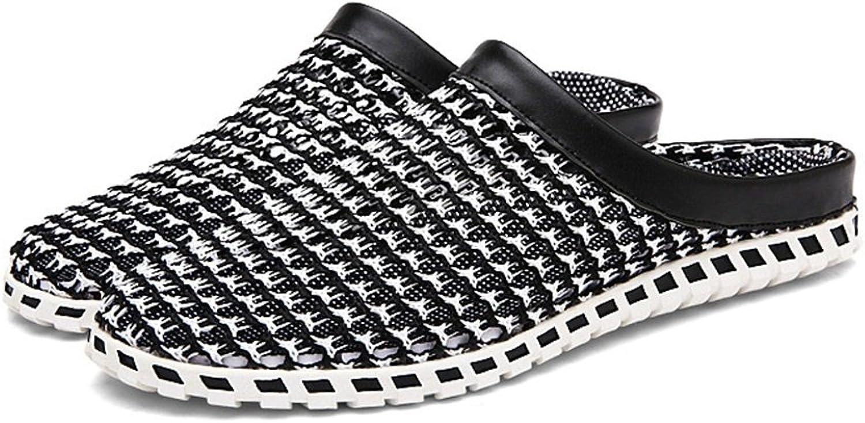 ELLANM Beach Men'S Sandals, Breathable Lightweight Mesh Summer Garden Sandals Sandals