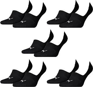 10 pair Puma Footie Invisible Socks Gr. 35-46 Unisex