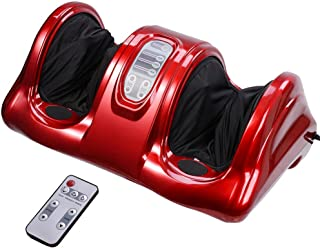 AW Shiatsu Foot Massager Kneading and Rolling Leg Calf Ankle with Remote Control Personal..