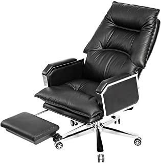 Ergonomic Chair Boss Chair Executive Chairs,Leather Computer Chair Home Office Desk Chairs Reclining Executive Chair Seat ...