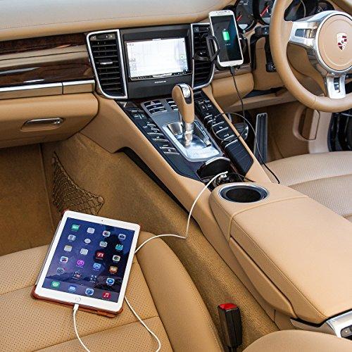 『WY 2ポートUSB車載充電器 [iPhone6s/6s Plus対応] 各社スマホ・iPadの車内充電 カーチャージャー 2.0A出力 小型 WY-CAR001』の1枚目の画像