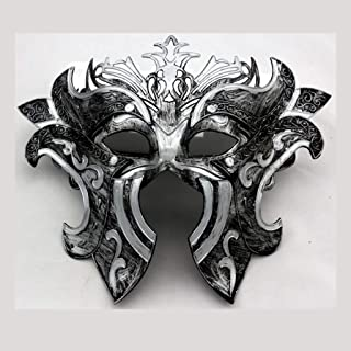 WXYXG Halloween Mask Cosplay Masquerade Princess Mask Half Face Mask Men and Women Gladiator Mask