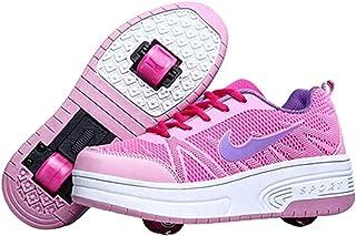 Sneakers Skateboard Outdoor Gym Sneakers Jongens Meisjes Casual schoenen met wielknoppen Verstelbare skateschoenen voor ki...