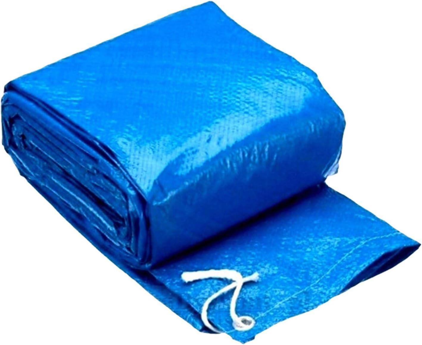 WANGQ Cobertor Piscina Hinchable, 3.95m Cubierta Solar Redonda Impermeable, Cubierta Protectora Impermeable Polvo Piscina De Aislamiento De Cine Inicio Piscina Accessor