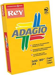 Adagio A4 160gsm Card - Assorted Bright Colours (Pack of 250),201.2000