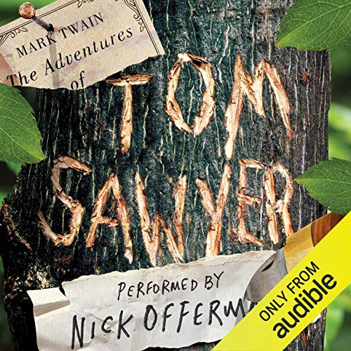 The Adventures of Tom Sawyer audiobook cover art