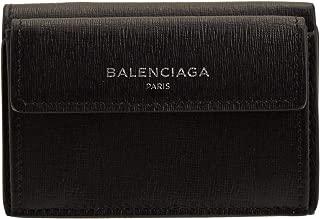[バレンシアガ] BALENCIAGA 財布 折財布 三つ折り ミニ コンパクト レザー アウトレット 410133 [並行輸入品]