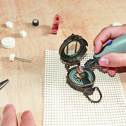 Dremel(ドレメル)ペン型ミニルーターFINO(フィーノ)無段階変速9種11ピース入り22,000回転/分研磨/磨き/汚れ落し
