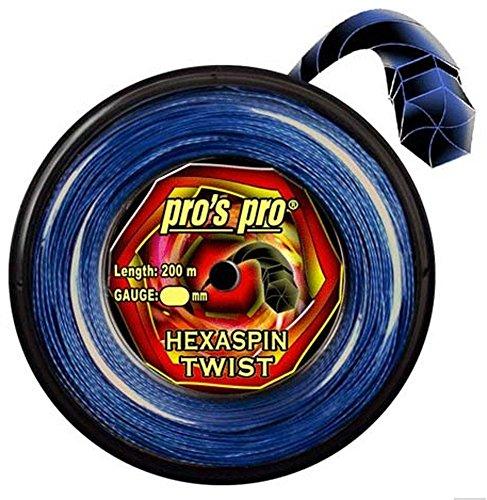 Pro Tenis Cordaje Hexaspin Twist 1,25mm...