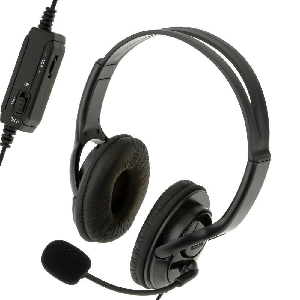 HSL - Auriculares estéreo con cable para Playstation 4 PS4: Amazon.es: Electrónica