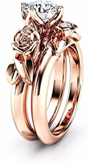 Best rose gold floral engagement rings Reviews