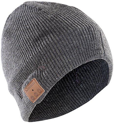 Bluetooth-Beanie-Mütze mit integriertem Headset von Callstel