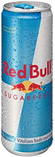 Red Bull Energy Drink Sugar Free 355ml - Packung mit 6