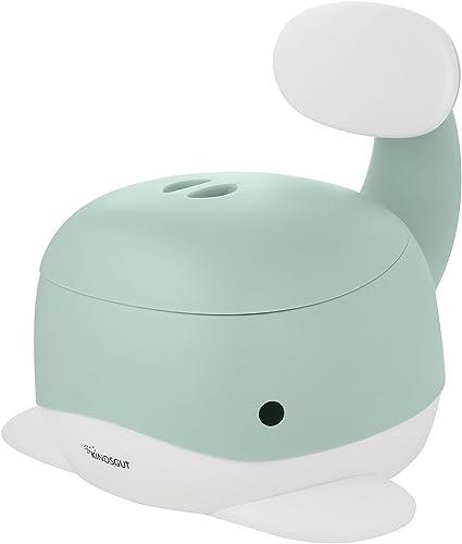 Kindsgut Pot pour bébé, toilette enfant pour l'apprentissage de la propreté, vert menthe