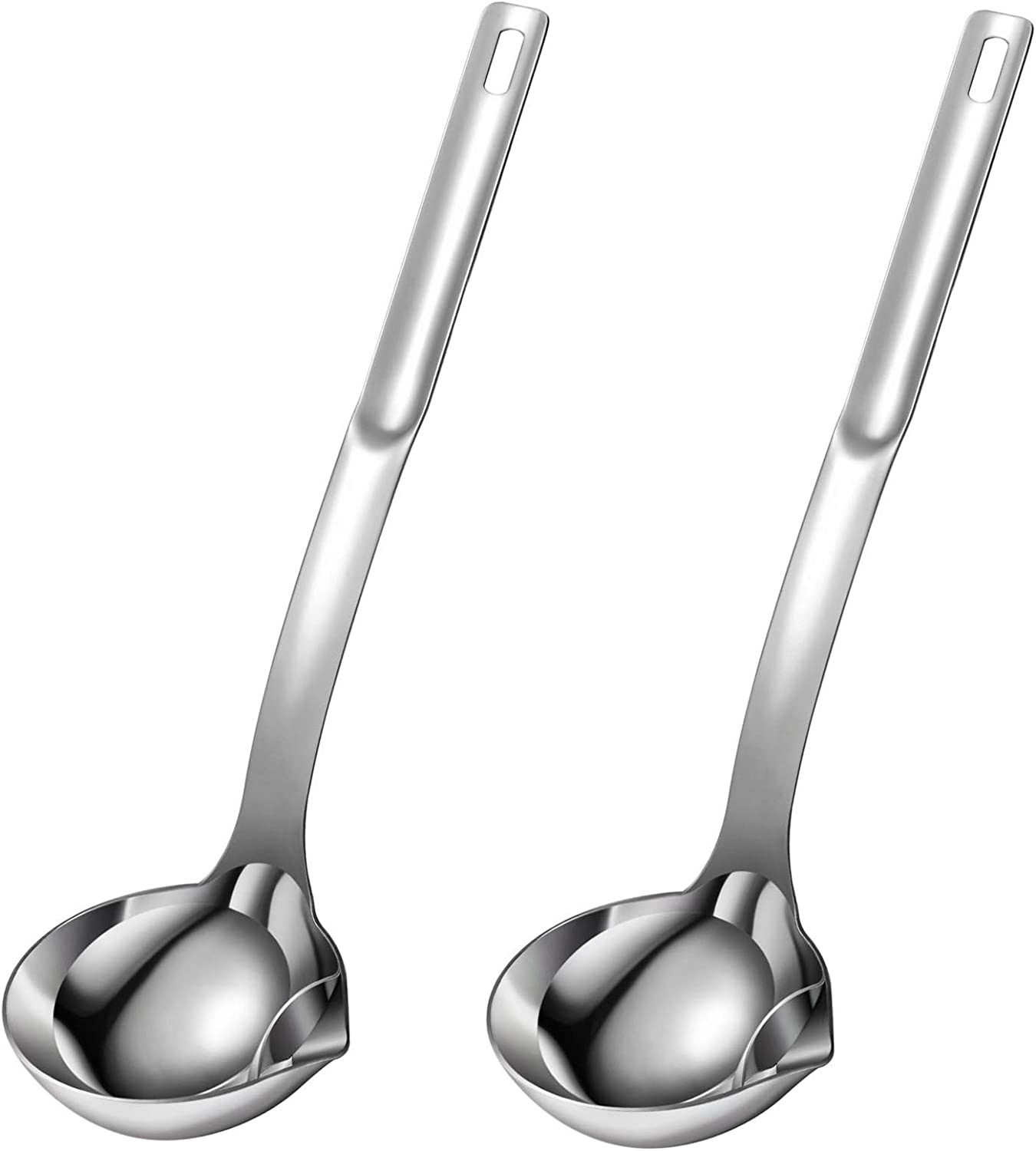 Lowest price challenge Superior 2 Pieces Oil Separator Ladle Stainless Soup Separa 304 Steel