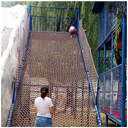 SSCYHT Red de Escalada para Niños Al Aire Libre, Parque de Atracciones para Jardín de Infantes, Red de Escalada, Red de Entrenamiento para Niños,1 * 3m(3.3 * 10ft)