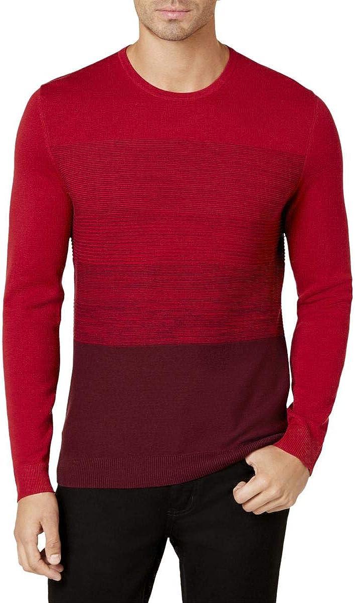 Alfani Mens Colorblocked Sweater
