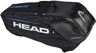 HEAD Speed 6 Racquet Combi Bag - Black