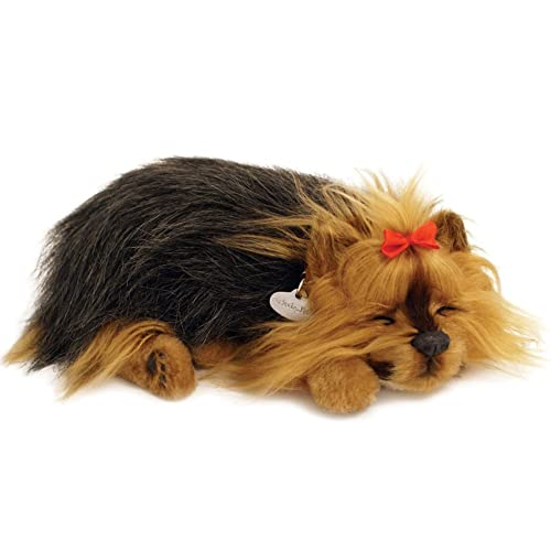 Perfect Petzzz Huggable Breathing Puppy Dog Pet Yorkie 90f5e98a79