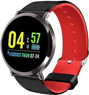 LTLGHY Smartwatch, Reloj Inteligente Impermeable IP68 para Hombre Mujer Niños, Pulsera De Actividad Inteligente con Monitor De Sueño Contador De Caloría Pulsómetros Podómetro,Negro