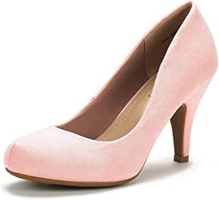 50f6e49bd0 DREAM PAIRS ARPEL/Berry Women's Formal Evening Dance Rhinestones Classic  Low Heel Pumps Shoes New