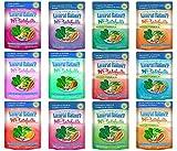 Dick van Patten's Natural Balance Grain-Free Platefulls Indoor and Regular Formula Cat Food 12 Flavor Variety Bundle, 3 Ounces Each (12 Pouches Total)