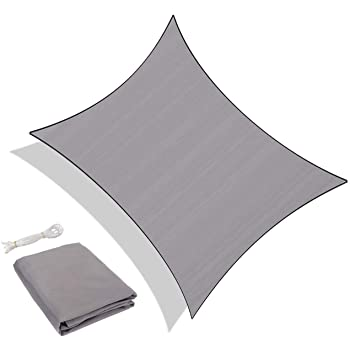 Sekey Toldo Vela de Sombra Rectangular Protección Rayos UV ...