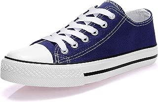 Padcod Womens Canvas Shoes Blue Size: 9