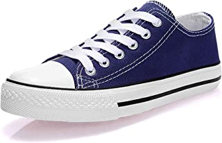 Padcod Womens Canvas Shoes Blue Size: 9