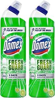 Domex Lime Fresh Toilet Cleaner - 750ml (Pack of 2)